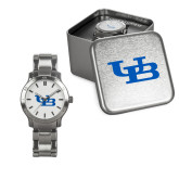 Ladies Stainless Steel Fashion Watch-Interlocking UB