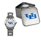Ladies Stainless Steel Fashion Watch-Interlocking UB