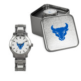 Ladies Stainless Steel Fashion Watch-Bull Spirit Mark