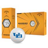 Callaway Warbird Golf Balls 12/pkg-Interlocking UB