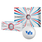 Callaway Supersoft Golf Balls 12/pkg-Interlocking UB