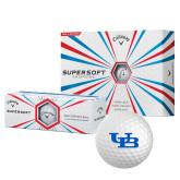 Callaway Supersoft Golf Balls 12/pkg-Interlocking UB