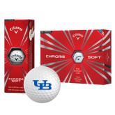 Callaway Chrome Soft Golf Balls 12/pkg-Interlocking UB