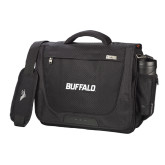 High Sierra Black Upload Business Compu Case-Buffalo Word Mark