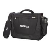 High Sierra Black Upload Business Compu Case-Buffalo Word Mark