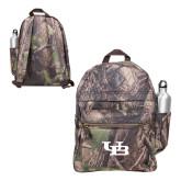 Heritage Supply Camo Computer Backpack-Interlocking UB