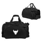 Challenger Team Black Sport Bag-Bull Spirit Mark