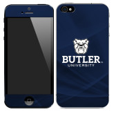 iPhone 5/5s Skin-Butler University Stacked Bulldog Head