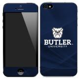 iPhone 5/5s Skin-Butler University Stacked Bulldog Head