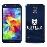 Galaxy S5 Skin-Butler University Stacked Bulldog Head