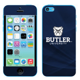 iPhone 5c Skin-Butler University Stacked Bulldog Head