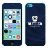 iPhone 5c Skin-Butler University Stacked Bulldog Head