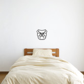 1 ft x 1 ft Fan WallSkinz-Bulldog Head