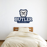 3 ft x 3 ft Fan WallSkinz-Butler University Stacked Bulldog Head