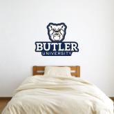3 ft x 3 ft Fan WallSkinz-Butler University Stacked Bulldog Head