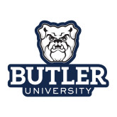 Medium Decal-Butler University Stacked Bulldog Head, 8 inches wide