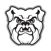 Small Decal-Bulldog Head, 6 inches tall