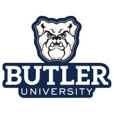 Extra Large Decal-Butler University Stacked Bulldog Head, 18 inches wide