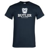 Navy T Shirt--Soccer