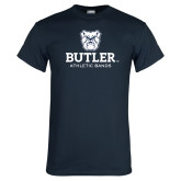 Navy T Shirt-Athletic Bands