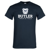 Navy T Shirt--Track and Field