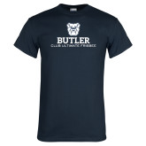 Navy T Shirt-Club Ultimate Frisbee
