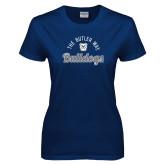 Ladies Navy T Shirt-The Butler Way