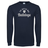 Navy Long Sleeve T Shirt-The Butler Way