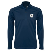 Syntrel Navy Interlock 1/4 Zip-Bulldog Head