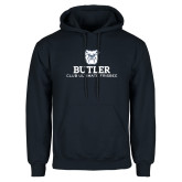Navy Fleece Hoodie-Club Ultimate Frisbee