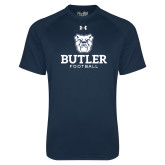 Under Armour Navy Tech Tee--Football