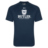 Under Armour Navy Tech Tee-Athletic Bands