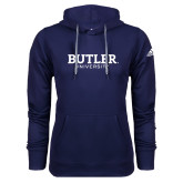 Adidas Climawarm Navy Team Issue Hoodie-Butler University