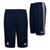 Adidas Climalite Navy Practice Short-Butler University Stacked Bulldog Head
