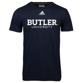 Adidas Climalite Navy Ultimate Performance Tee-Butler University