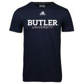 Adidas Climalite Navy Ultimate Performance Tee-Butler University