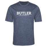 Performance Navy Heather Contender Tee-Butler University