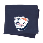 Navy Sweatshirt Blanket-White Tag Trip