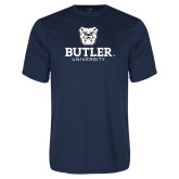 Syntrel Performance Navy Tee-Butler University Stacked Bulldog Head
