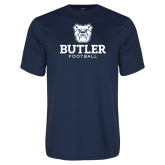 Performance Navy Tee--Football