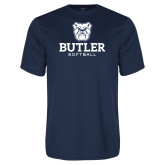 Performance Navy Tee--Softball