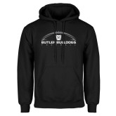 Black Fleece Hoodie---Arched Football