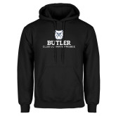 Black Fleece Hoodie-Club Ultimate Frisbee