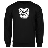 Black Fleece Crew-Bulldog Head