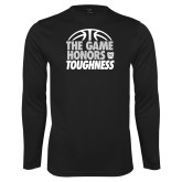 Syntrel Performance Black Longsleeve Shirt-The Game Honors Toughness