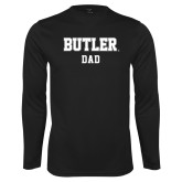 Syntrel Performance Black Longsleeve Shirt-Dad