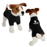 Classic Black Dog T Shirt-Butler University Stacked Bulldog Head