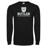 Black Long Sleeve TShirt-Club Basketball