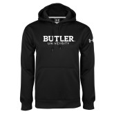 Under Armour Black Performance Sweats Team Hoodie-Butler University