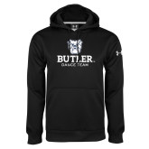 Under Armour Black Performance Sweats Team Hoodie-Dance Team